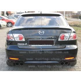 Спойлер Mazda 6 (сабля на багажник)