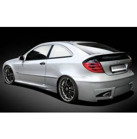 Задний бампер Mercedes W203 (AT)