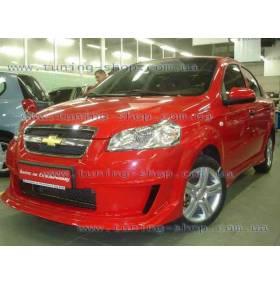 Передний бампер  Chevrolet Aveo (TS)
