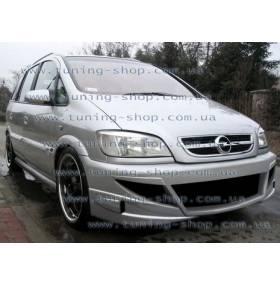 Передний бампер Opel Zafira (AT)