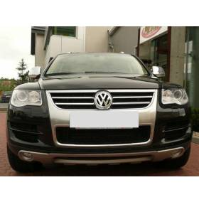 Накладка переднего бампера VW Touareg 2007- (King Kong)
