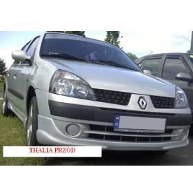 Накладка переднего бампера Renault Symbol (Cet)