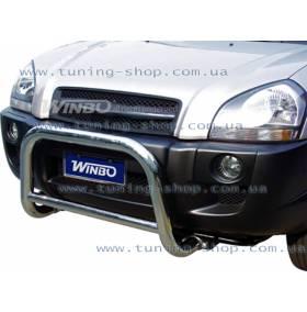 Защита переднего бампера A133003 Hyundai Tucson