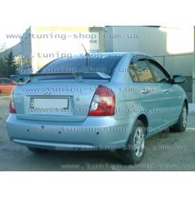 Спойлер Hyundai Accent (Пилот ПУ)
