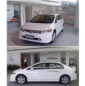 Тюнинг комплект Honda Civic 06 (Obv)