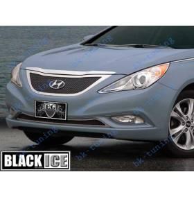 Решетка радиатора Hyundai Sonata 2011 (Ice black)