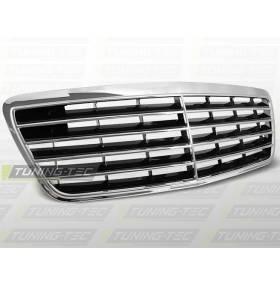 Решетка радиатора Mercedes W210 E- class 06.99 - 03.02 (GRME06)