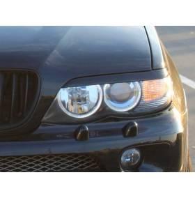 Реснички на фары BMW X5 E53