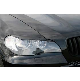 Реснички на фары BMW X5 E70