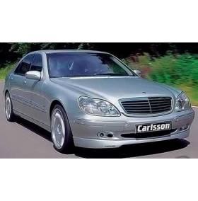 Накладка на передний бампер Mercedes W220 (CARLSSON)