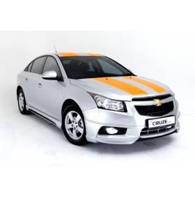 Накладка на бампер Chevrolet Cruze передняя (Extreme)