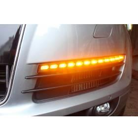 Поворотные диодные фонари Audi Q7 (2006-2009)
