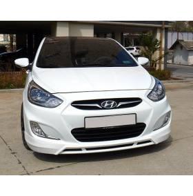 Накладка бампера Hyundai Solaris