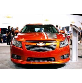 Накладка переднего бампера Chevrolet Cruze (Z-Line)