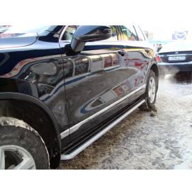 Пороги VW Touareg NF 2010 (TR-S11)