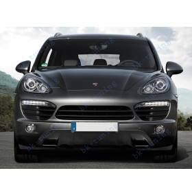 Защита бампера Porsche Cayenne 2011 (PC-B11)