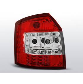 Задние диодные фонари Audi A4 Avant 2000 - 2004 (LDAU34)