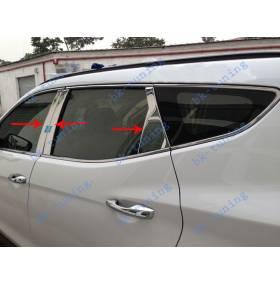 Накладки на двери Hyundai Santa Fe 2012 (HS-D31)