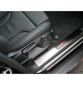 Накладки на пороги Audi Q5 (Q5-P22)