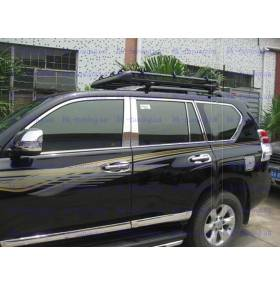 Молдинги бокового стекла Prado 150 (TP-D01)