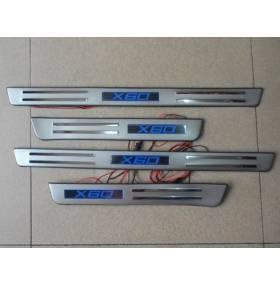 Накладки на пороги с подсветкой Lifan X60 (X60-P22)