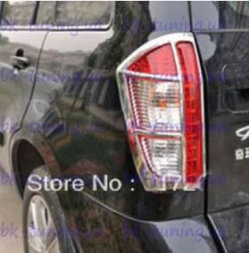 Хром накладки на задние фонари Chery Tiggo (TI-L22)