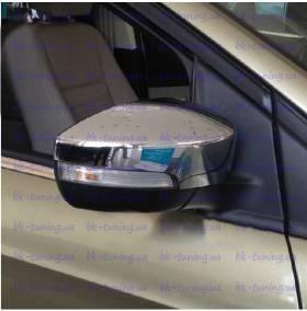 Хром на зеркала Ford Kuga 2013 (FK-C35)