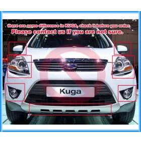 Хром молдинг на капот Ford Kuga 2013 (FK-C33)