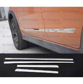 Молдинги на двери Subaru XV (SX-D22)