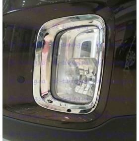 Хром на противотуманные фары Kia Sorento 2013 (KSO-L33)