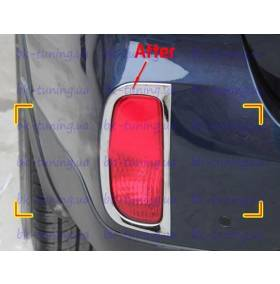Хром на задние туманки Kia Sorento 2013 (KSO-L34)