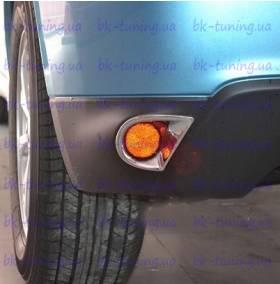Хром на задние туманки Mitsubishi ASX (MA-L34)