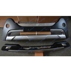 Накладки на бампер Toyota Rav-4 2013 (RV-B31-B32)