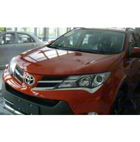 Хром на низ фары Toyota Rav-4 2013 (RV-L32)