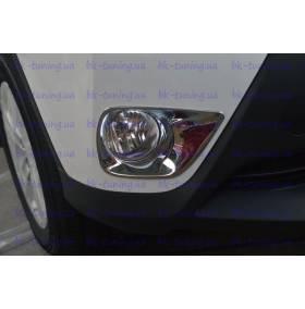 Накладки на противотуманные фары Toyota Rav-4 2013 (RV-L35)