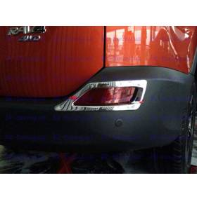 Накладки на задние туманки Toyota Rav-4 2013 (RV-L36)