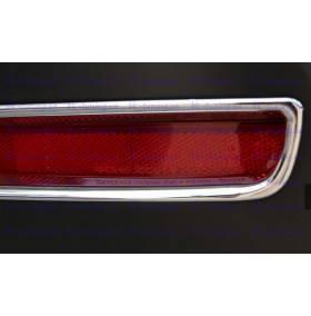 Хром на задние туманки Subaru Forester 2013 (SF-L34)