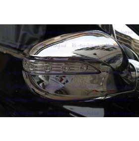 Накладки на зеркала Hyundai IX-35 (HT-С91)