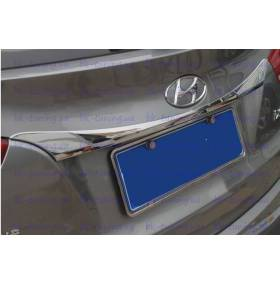 Молдинг на заднюю дверь верх Hyundai IX-35 (HT-D98)