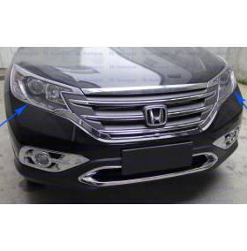Накладки на фары Honda CRV 2012 (CRV-L21)