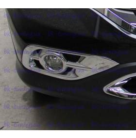 Накладки на противотуманки Honda CRV 2012 (CRV-L23)