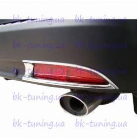 Накладки на задние туманки Honda CRV 2012 (CRV-L24)