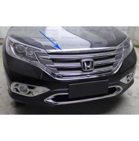 Хром накладка на капот Honda CRV 2012 (CRV-C23)