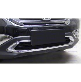 Декор в бампер Honda CRV 2012 (CRV-C25)
