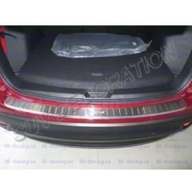 Накладка на бампер Mazda СХ5 (CX5-P24)
