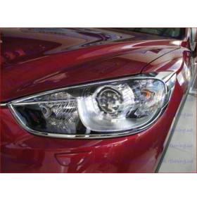 Хром на фары Mazda CХ5 (CX5-L21)