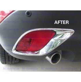 Хром на задние туманки Mazda CХ5 (CX5-L24)