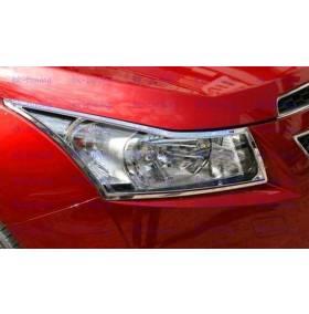Накладки на фары Chevrolet Cruze (CCR-L11)
