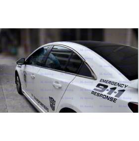 Хром на окна Chevrolet Cruze (CCR-D11-12)