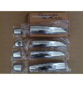 Накладки на дверные ручки Camry 50 (TC-D22)